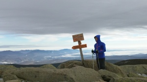 It was also super windy and cold at the summit.
