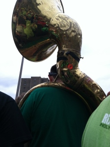 WHERE WERE YOU, TUBA MAN? :(