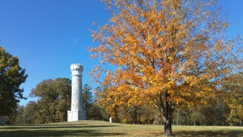 New England always gets all the fall foliage credit, but it's just as beautiful in the southeast! Exhibit A.
